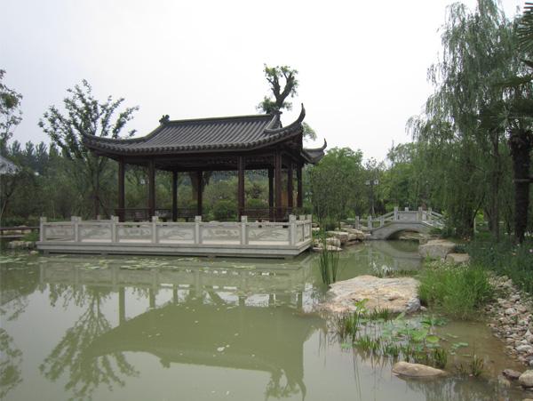 三槐堂园林景观工程