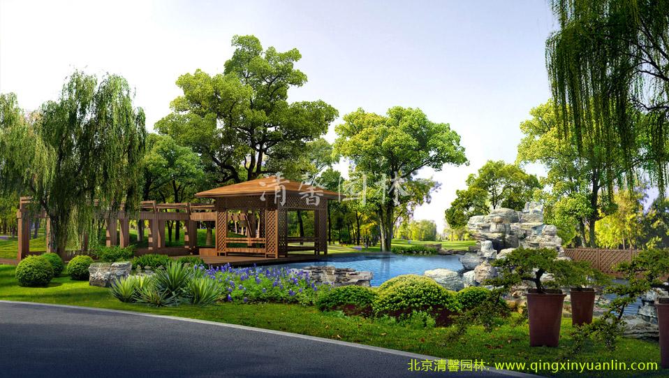 广电总局地产景观工程案例图片