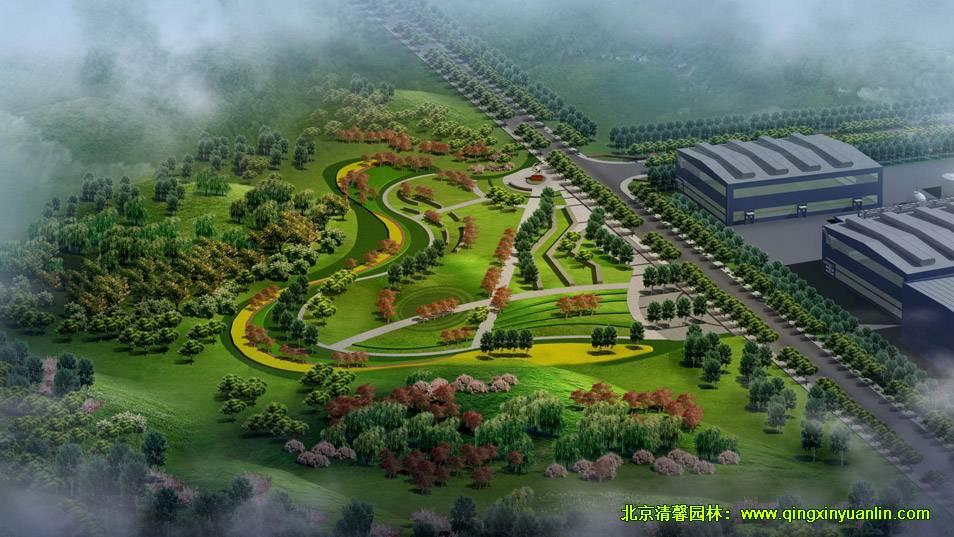 包钢新体系绿化景观设计