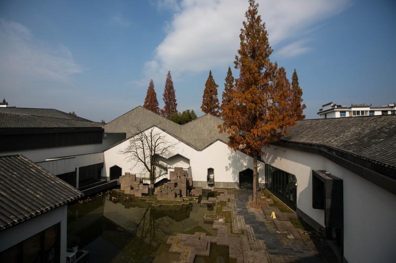 禅意景观 绩溪博物馆 景观设计