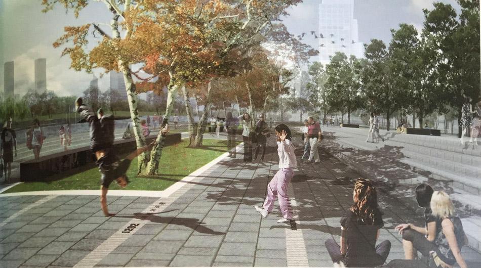 北京通惠河景观设计