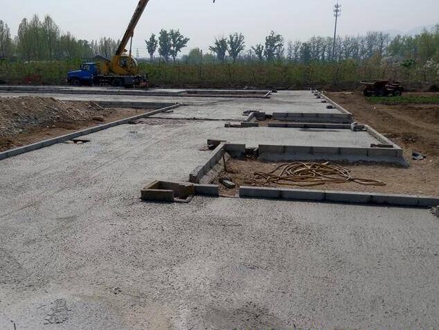 御香园改造提升工程铺装实况案例