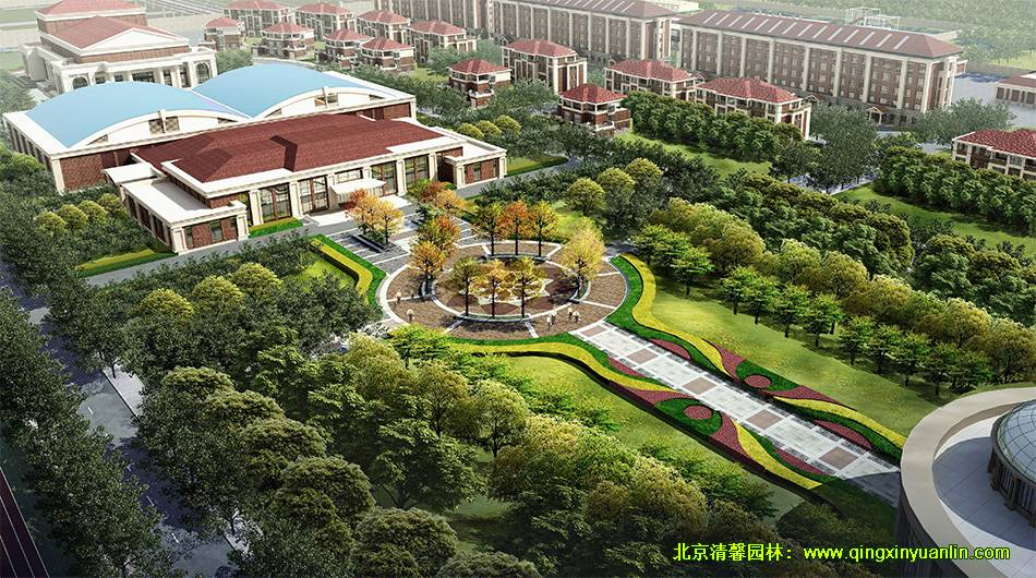 武警指挥学院景观设计