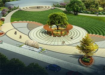北京西冉公园景观设计