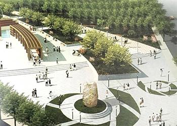 大青公园景观设计案例展示