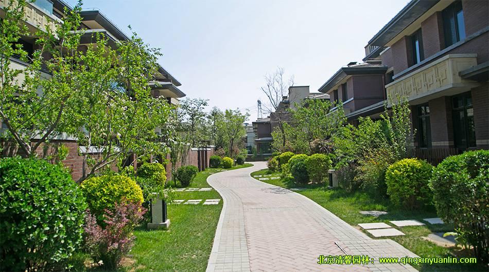燕西华府项目 园林景观工程