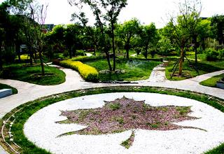 北京枫树家园地产景观工程设计案例