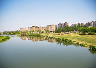 北京首创奥特莱斯房山项目之滨河公园园林景观工程