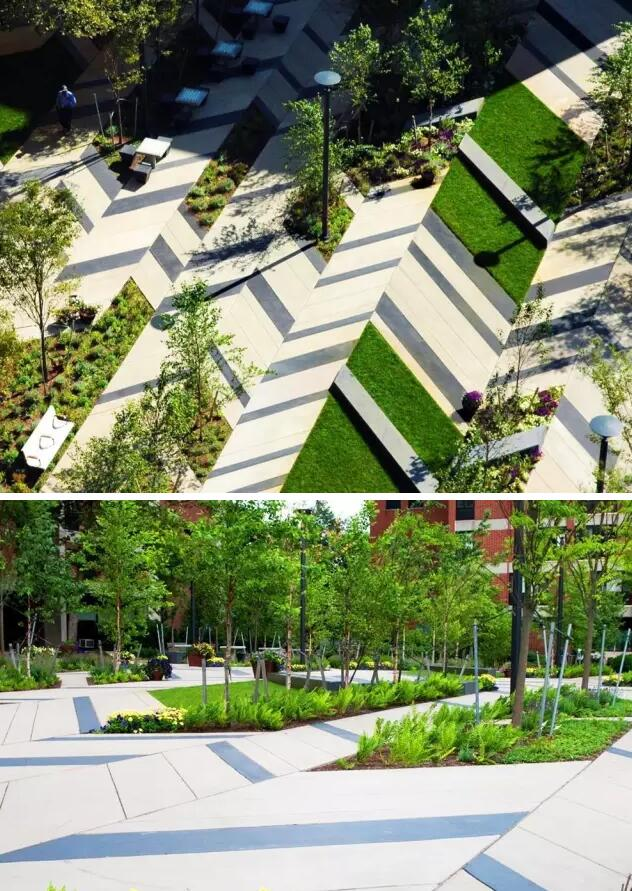 美国波士顿莱文森广场景观设计赏析