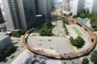 上海空中步行系统龙之翼景观设计方案赏析