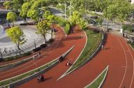 张庙科普健身公园广场景观设计方案赏析