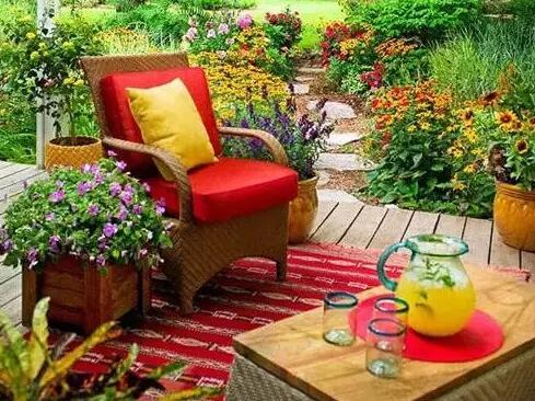 庭院景观设计图欣赏