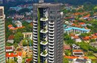 新加坡牛顿轩住宅景观设计