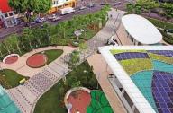 新加坡城市广场购物中心景观设计