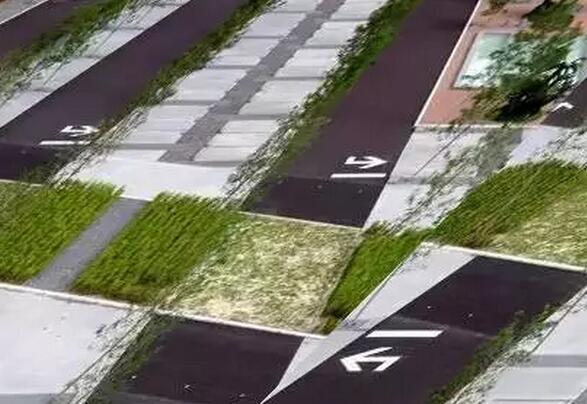 创意停车位景观设计图欣赏